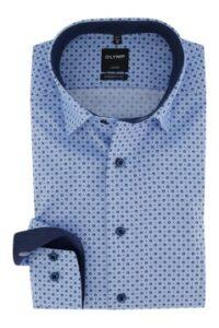 overhemd-olymp-luxor-modern-fit-blauw-dessin