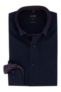 overhemd-olymp-modern-fit-donkerblauw-strijkvrij